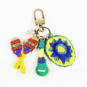 JAMIN PUECH PARIS Accessories - Maracas Beaded Sequin Keychain